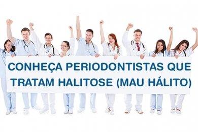 Periodontistas que tratam o mau hálito